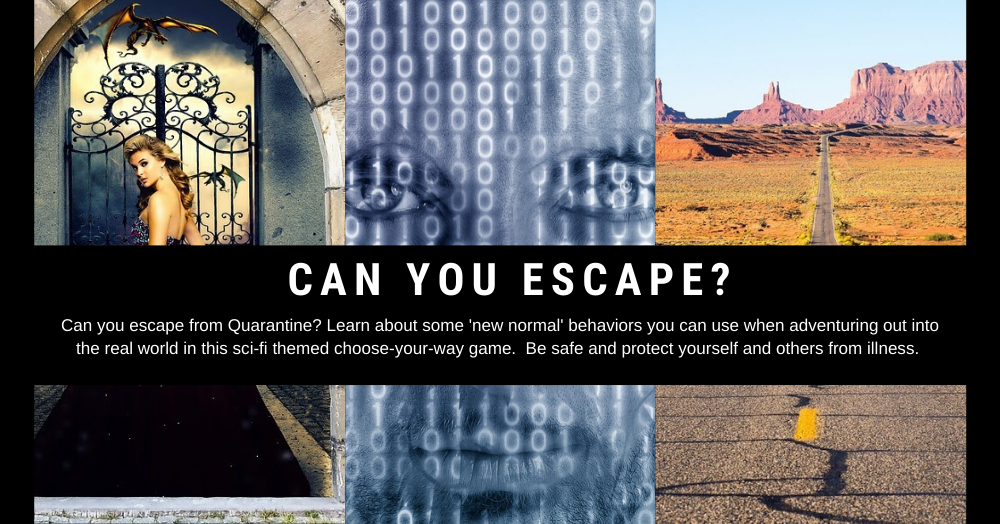 Escape From Quarantine Berthoud Community Library District